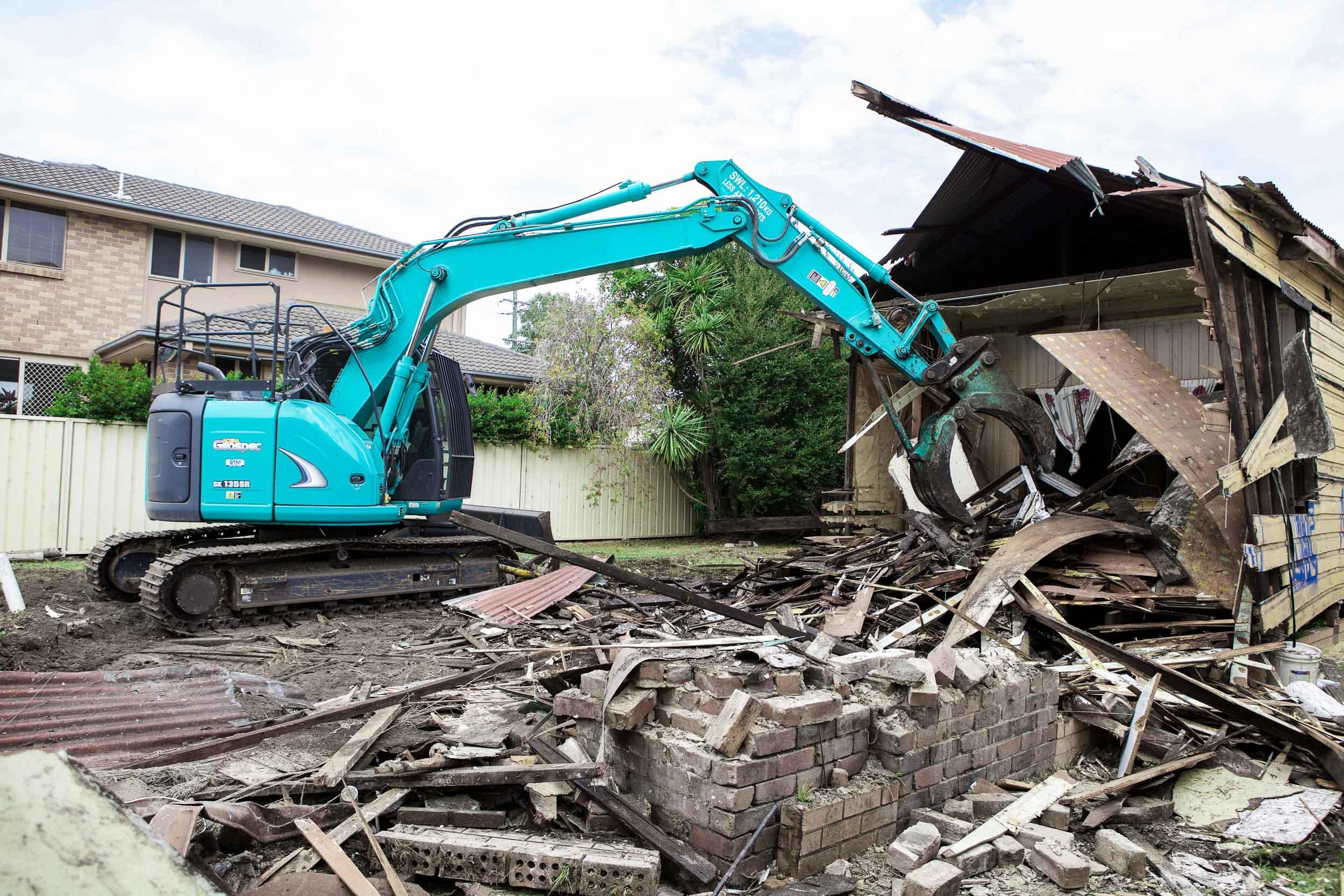 Home Demolition NSW